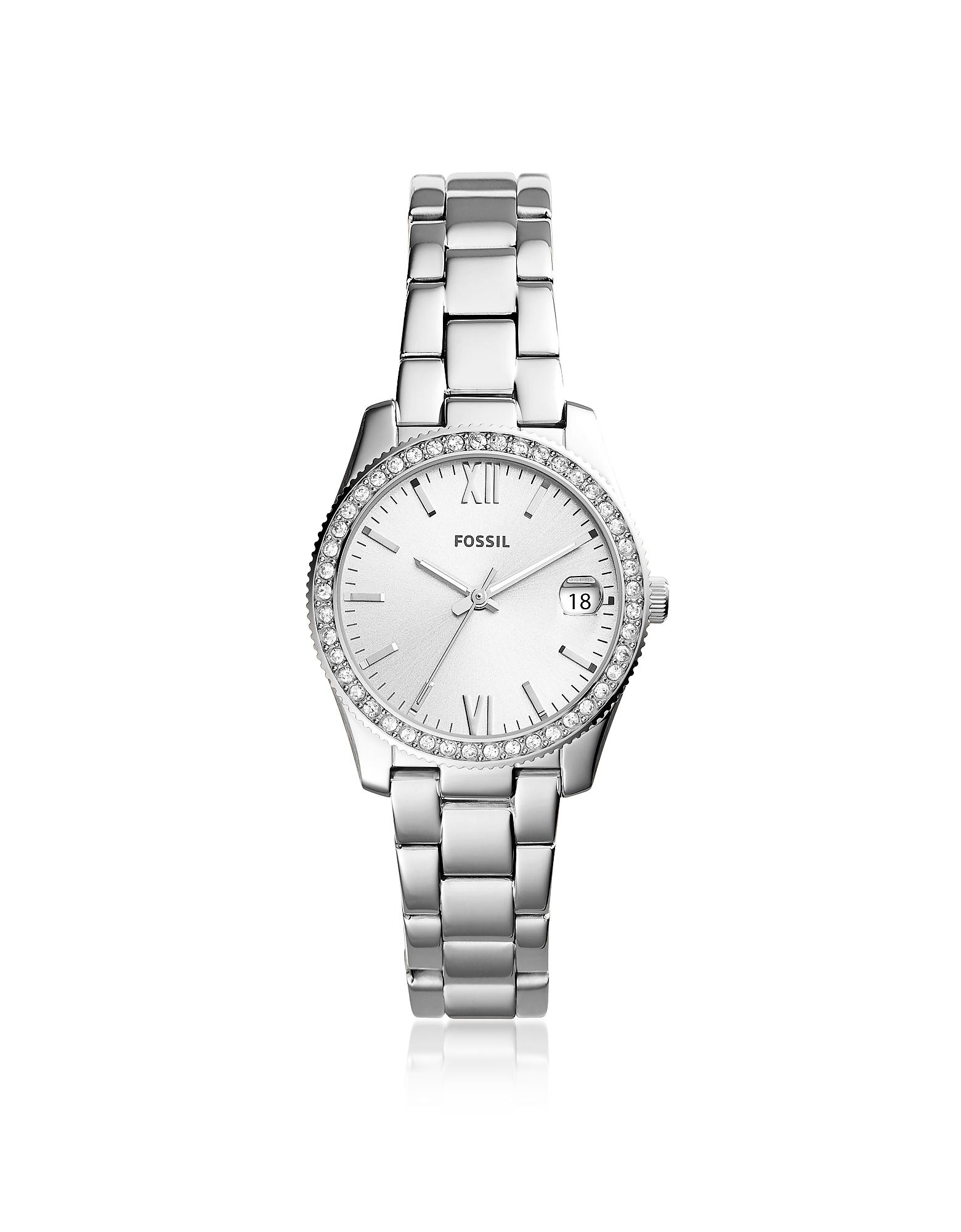 Scarlette Three-Hand Date Stainless Steel Women's Watch