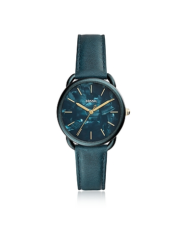 FOSSIL Tailor Three Hand Teal Green Women's Watch
