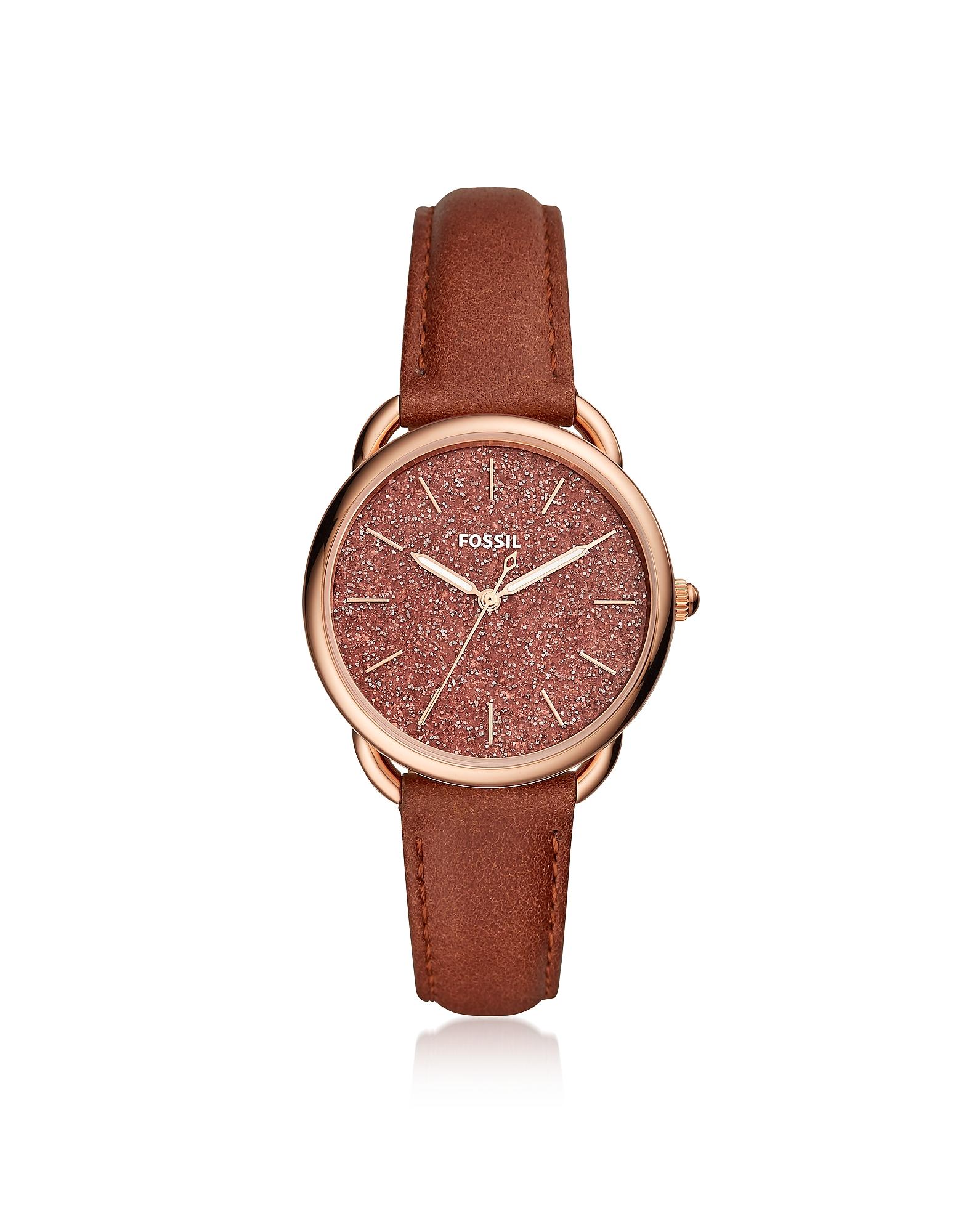 Fossil Women's Watches, Tailor Three Hand Terracotta Women's Watch