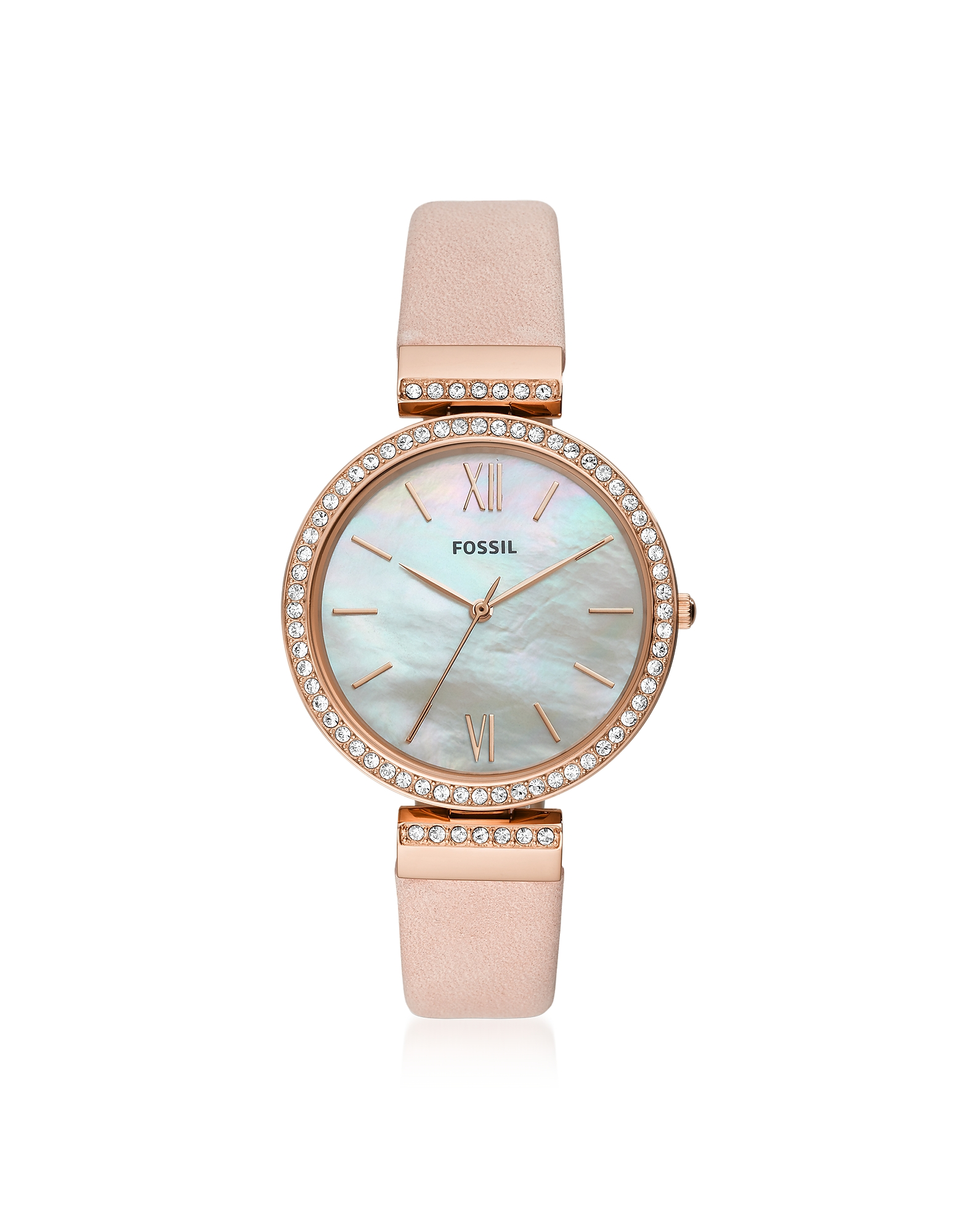 Madeline Pink Leather Women's Watch