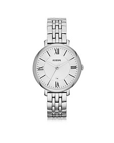 Jacqueline Stainless Steel Women's Watch - Fossil