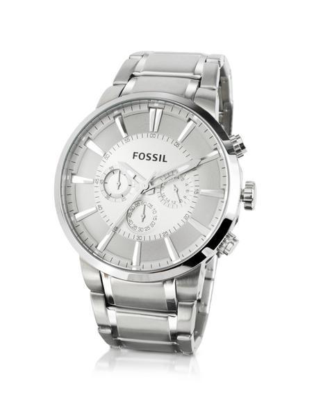 Fossil Gro�e Armbanduhr mit Chronograph