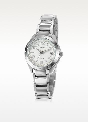 Slim Crystal Bracelet Watch  - Fossil