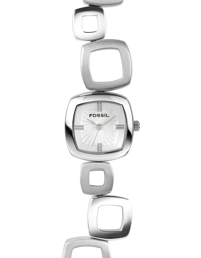 Square Link Bracelet Watch  - Fossil