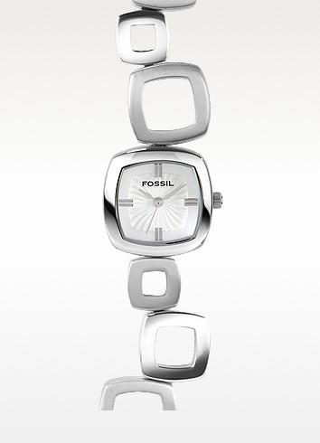 Square Link Bracelet Watch  - Fossil