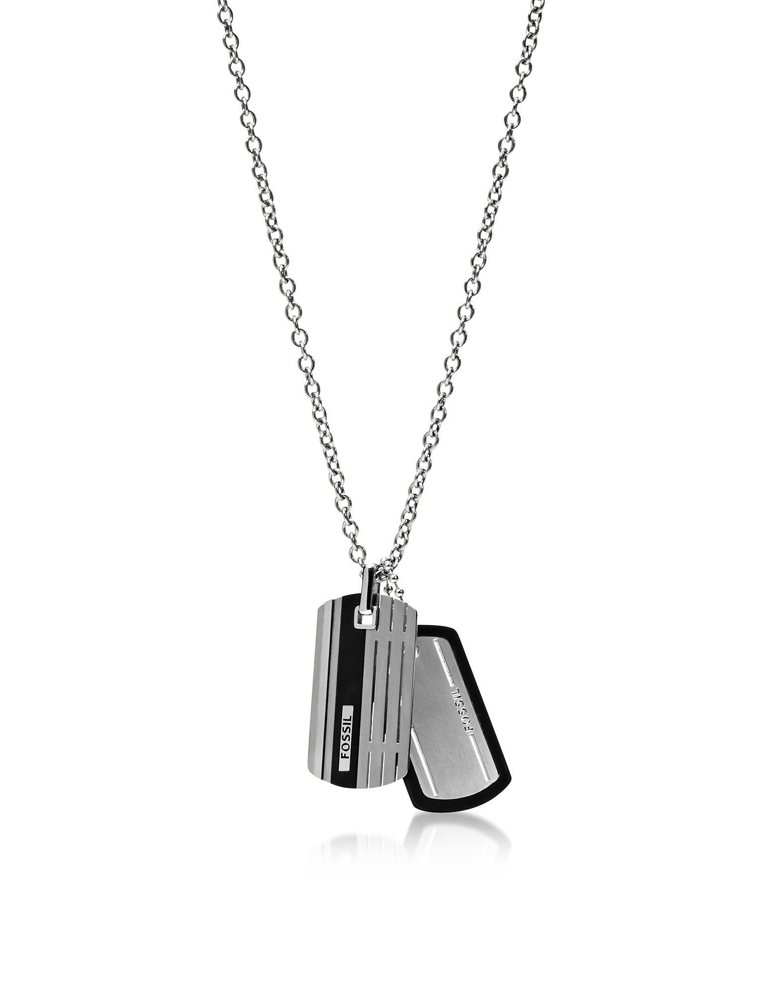 ID Tag Men's Necklace