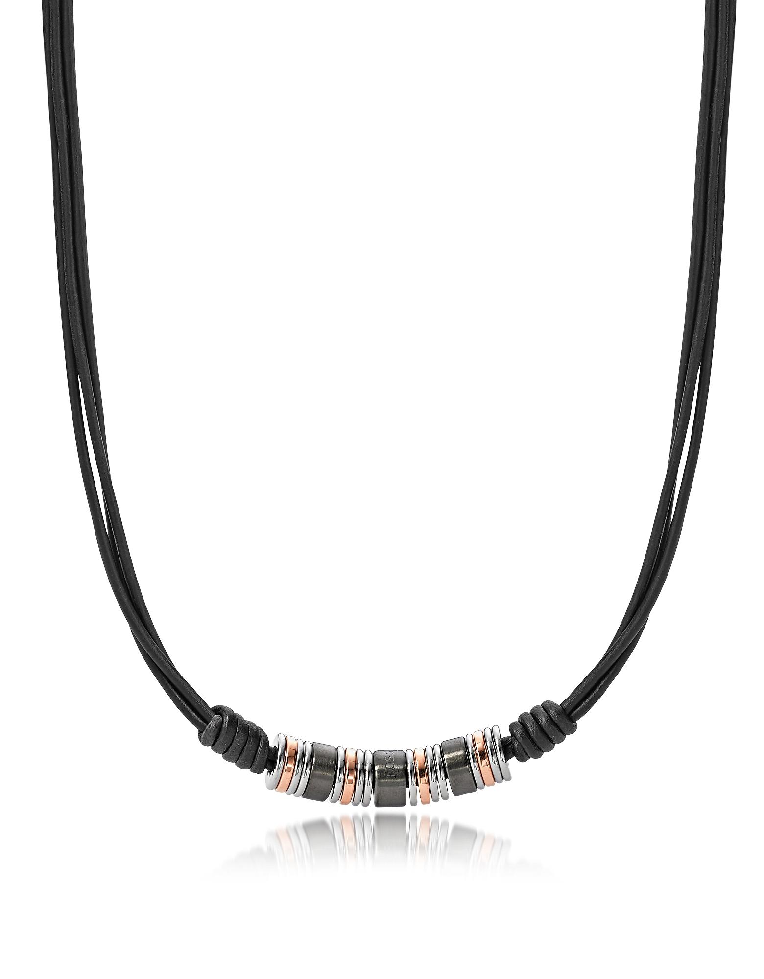 Мужское Ожерелье JF01656998 Mens dress Fossil