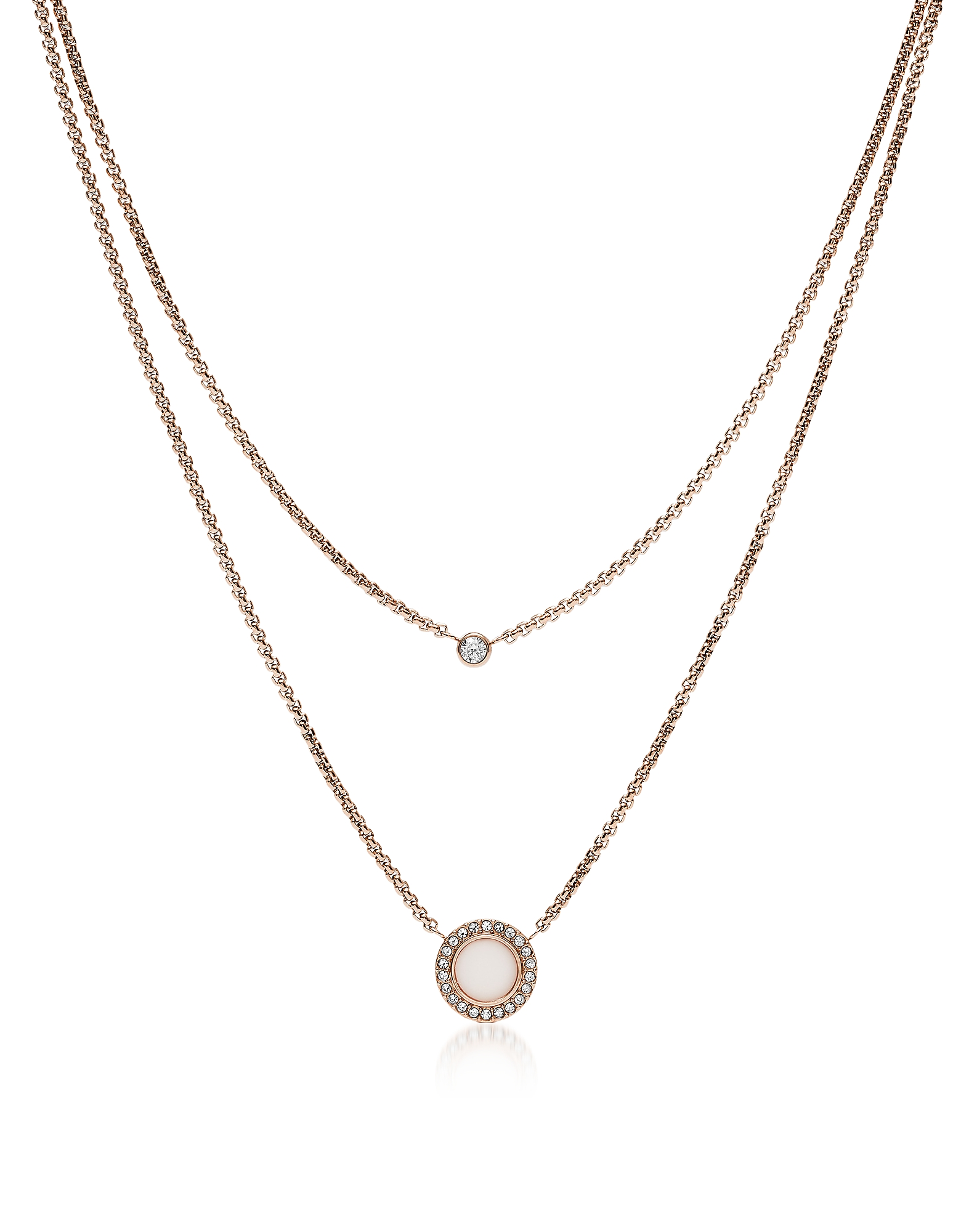 Fossil Necklaces, JF03057791 Classics Women's Necklace