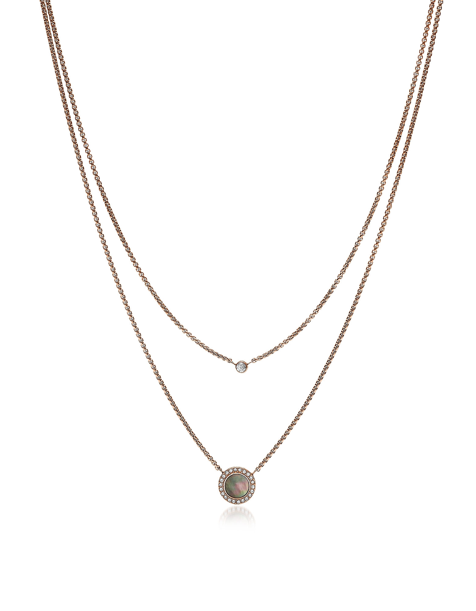 Fossil Necklaces, JF02953791 Classics Women's Necklace