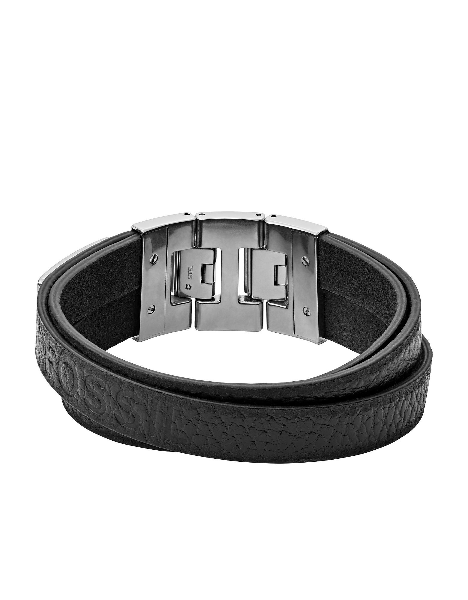 Black Double Men's Bracelet