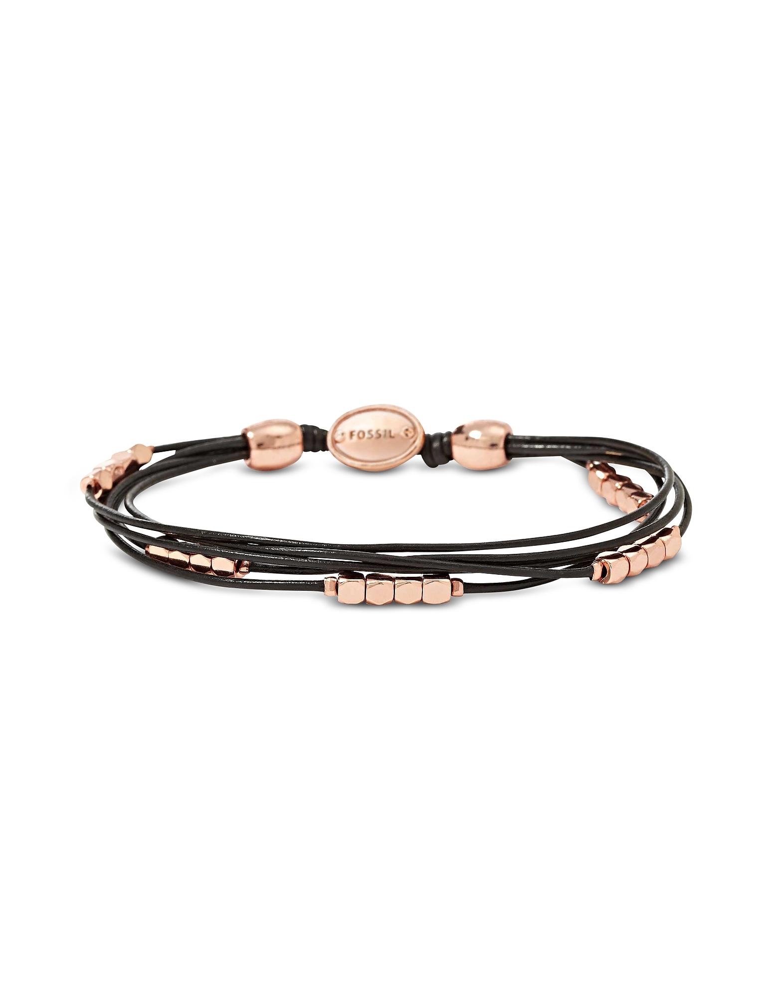 Rose Gold Dainty Nugget Wrap Women's Bracelet