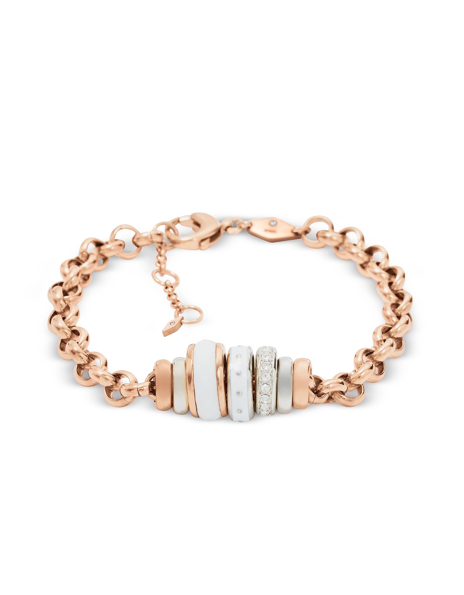 Fossil Bracelets, Classics Rose Gold Women's Bracelet