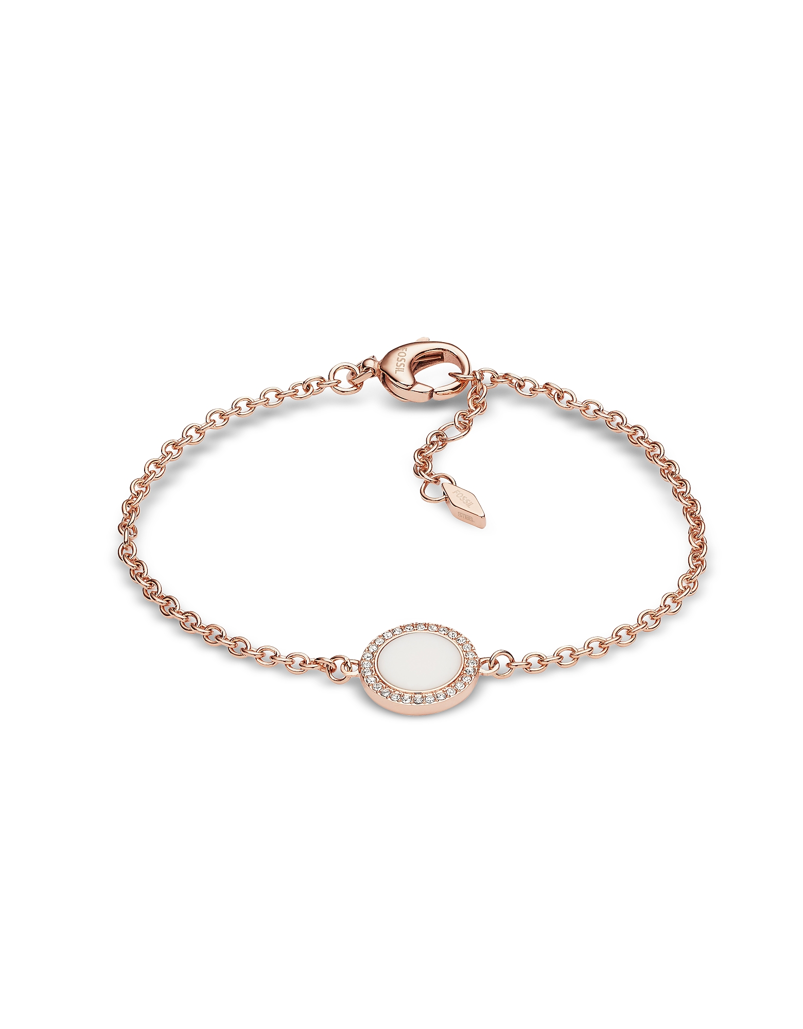 Stone Glitz Chain Women's Bracelet
