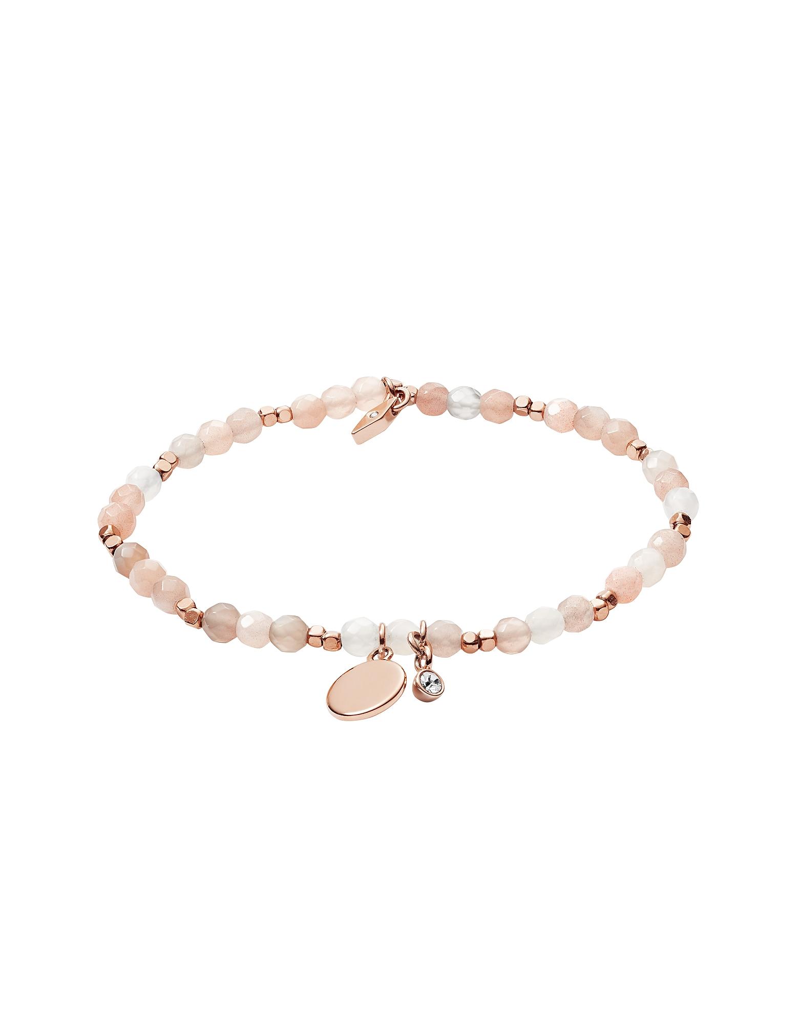 Fossil Bracelets, Women's Moonstone Bracelet