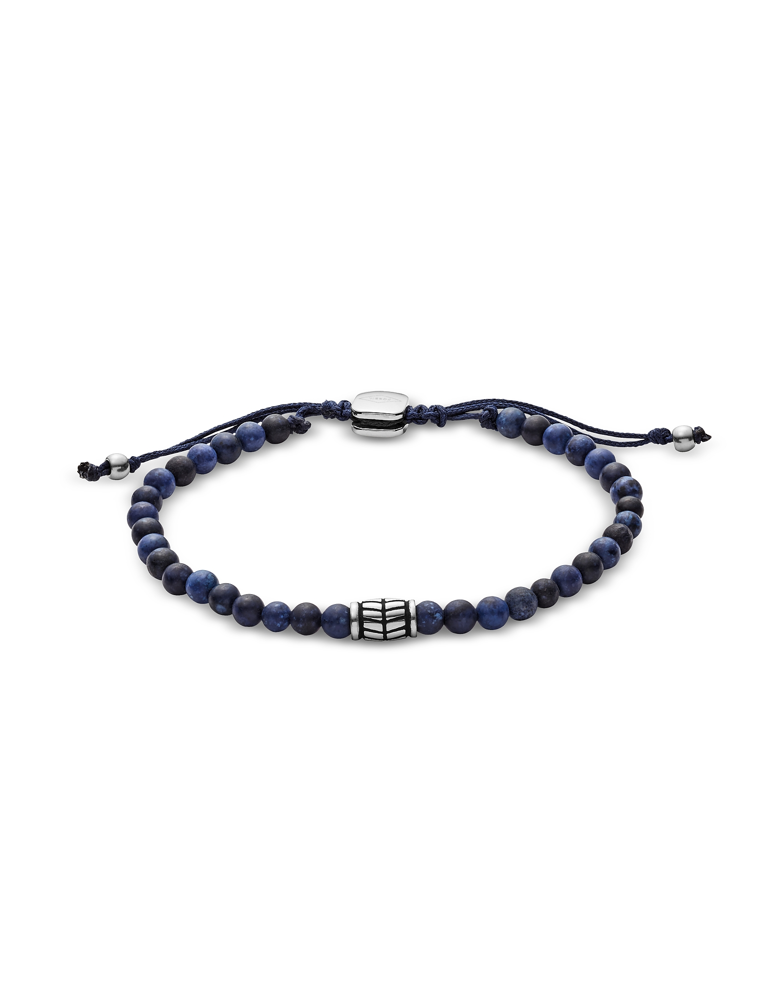 Men's Blue Semi-Precious Bracelet