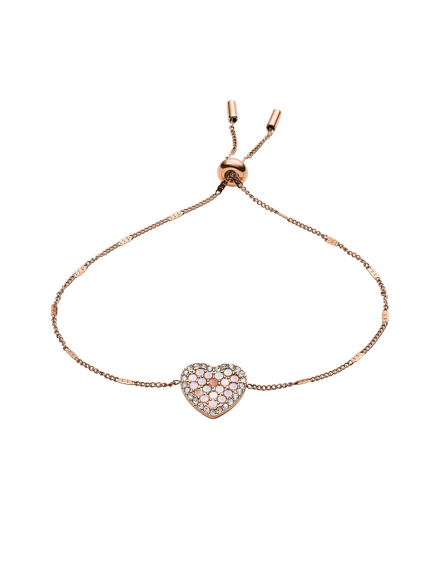 Fossil  Bracelets Mosaic Heart Glitz Bracelet