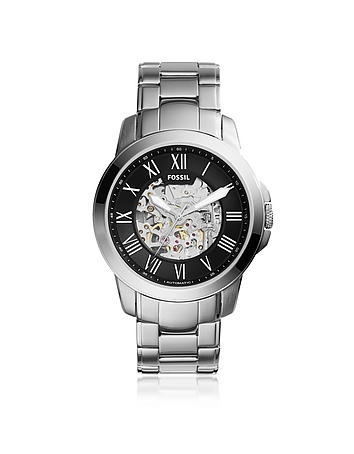 Fossil Grant Automatic Stainless Steel Men's Watch