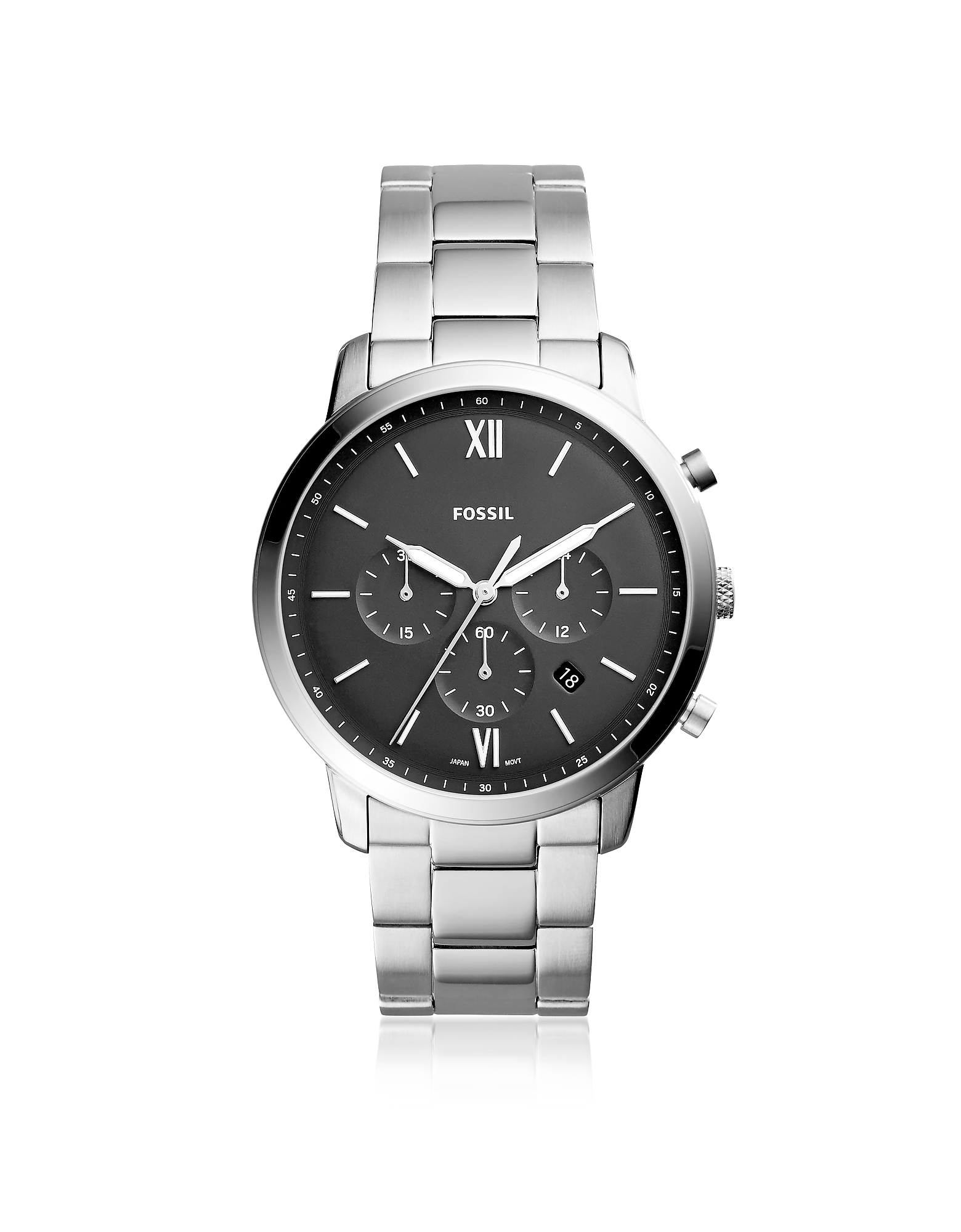 Fossil Men's Watches, Neutra Chronograph Stainless Steel Men's Watch