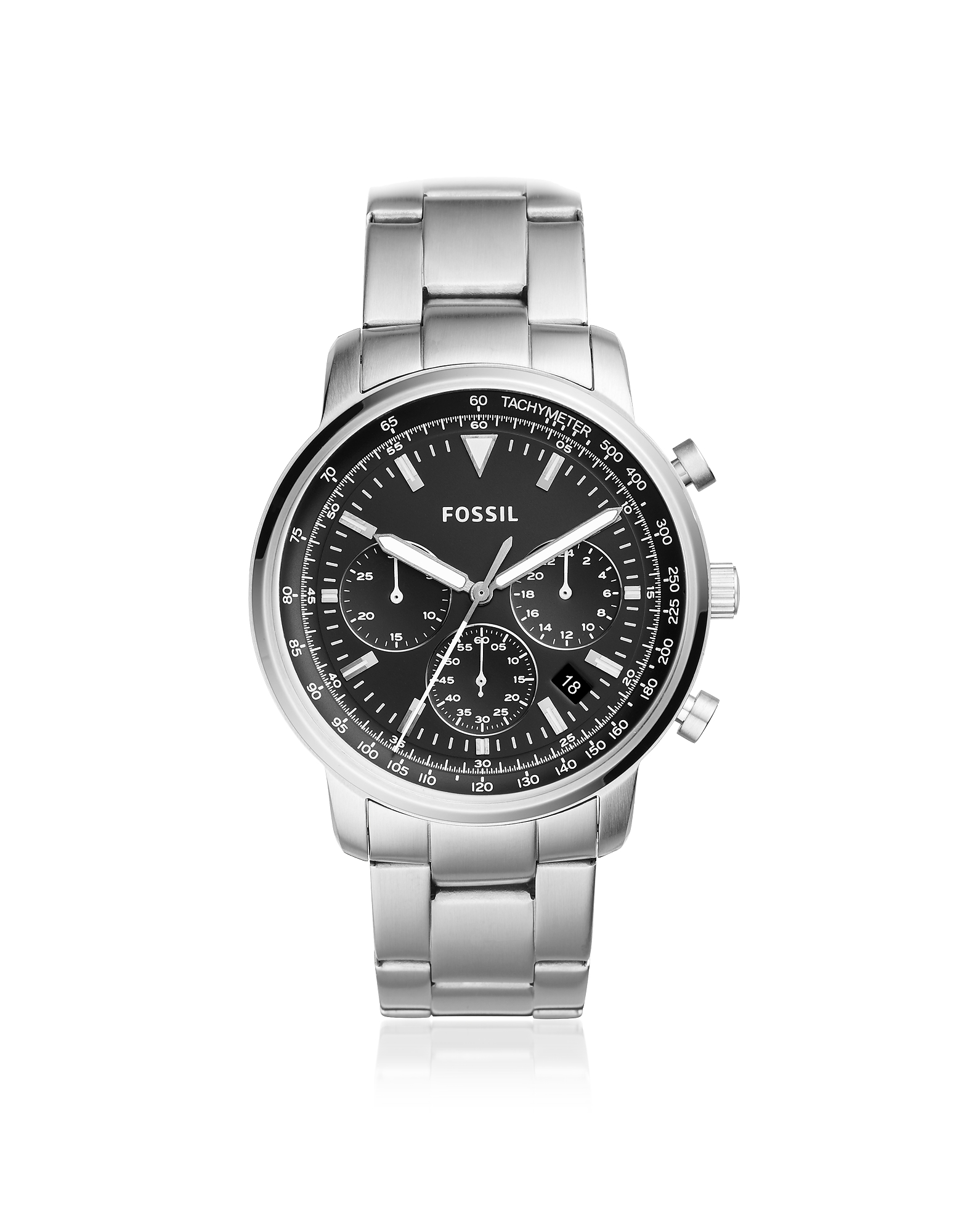 Fossil Men's Watches, Goodwin Chronograph Stainless Steel Men's Watch