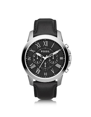Grant Chronograph Leather Men's Watch