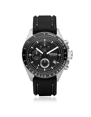 Fossil - Decker Stainless Steel Men's Chronograph Watch