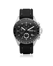 Decker Stainless Steel Men's Chronograph Watch - Fossil