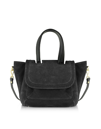 Suede Medium Tote Bag