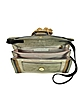 Color Block Suede Shoulder Bag w/Camel Tassels - L'Autre Chose