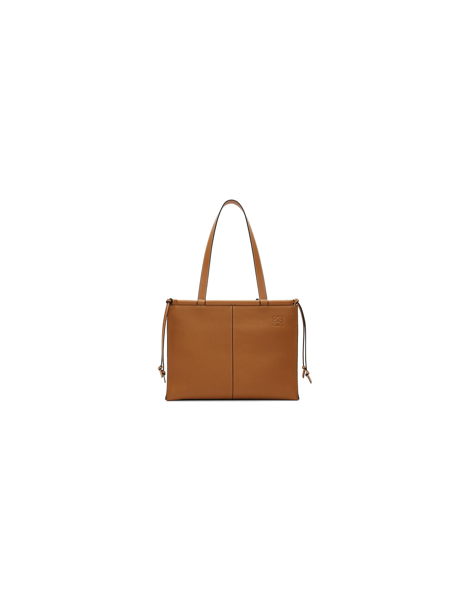 Loewe Designer Handbags, Brown Cushion Tote