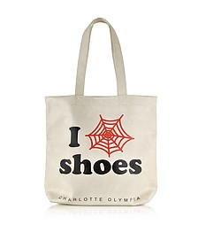 I Love Co Shoes Eco Leather Tote - Charlotte Olympia