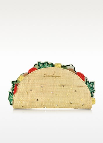 Taquera Taco Shaped Clutch  - Charlotte Olympia