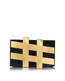 #Pandora Perspex Clutch - Charlotte Olympia