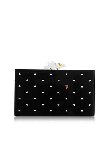 Fresh Pandora Black Perspex Clutch