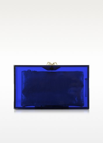 Pandora Colour Clutch Box w/Spider Clasp - Charlotte Olympia