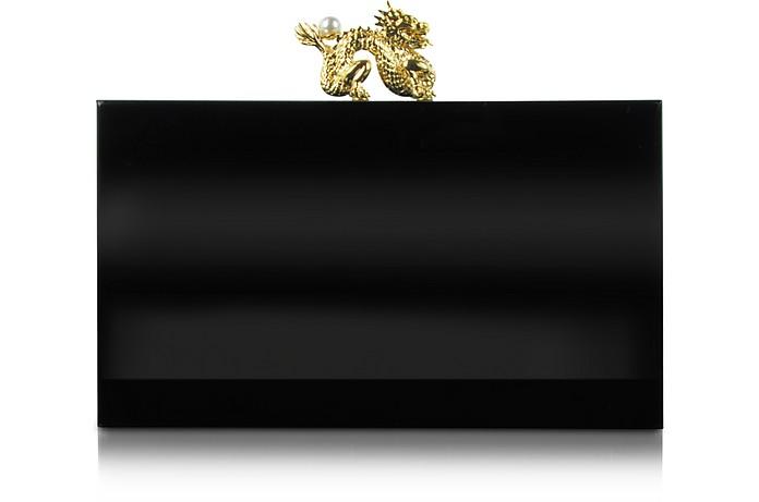 Dragon Pandora Clutch Box w/Dragon Clasp - Charlotte Olympia