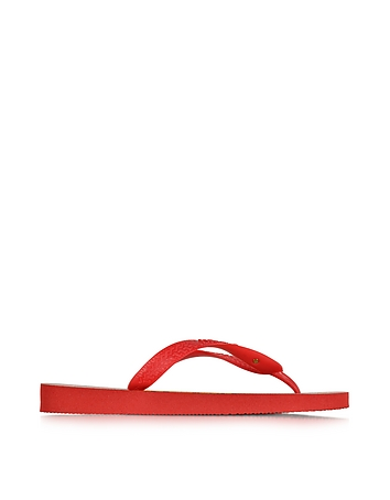 Bruce Havaianas Ruby Red Rubber Flip Flop