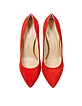 Monroe Red Suede Pump - Charlotte Olympia