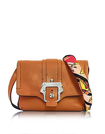 Gigi Cognac Leather Crossbody
