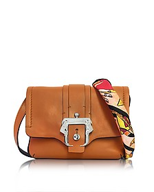 Gigi Cognac Leather Crossbody - Paula Cademartori