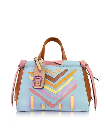 Linda Multicolor Leather Shoulder Bag