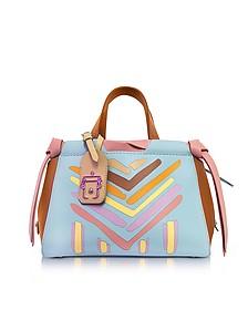 Linda Multicolor Leather Shoulder Bag - Paula Cademartori