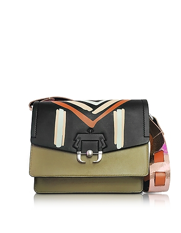 Paula Cademartori - Twiggy Multicolor Leather Shoulder Bag