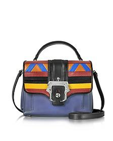 Dun Dun Multicolor Leather Satchel - Paula Cademartori