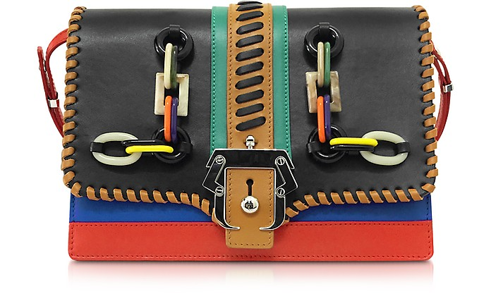 Tatiana Multicolor Leather Shoulder Bag - Paula Cademartori