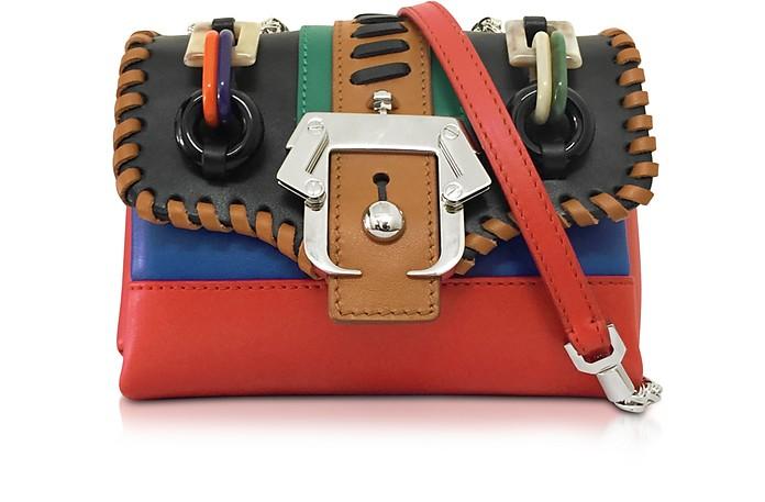 Kate Multicolor Leather Shoulder Bag - Paula Cademartori