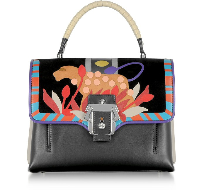 Petite Faye Leather Satchel Bag - Paula Cademartori