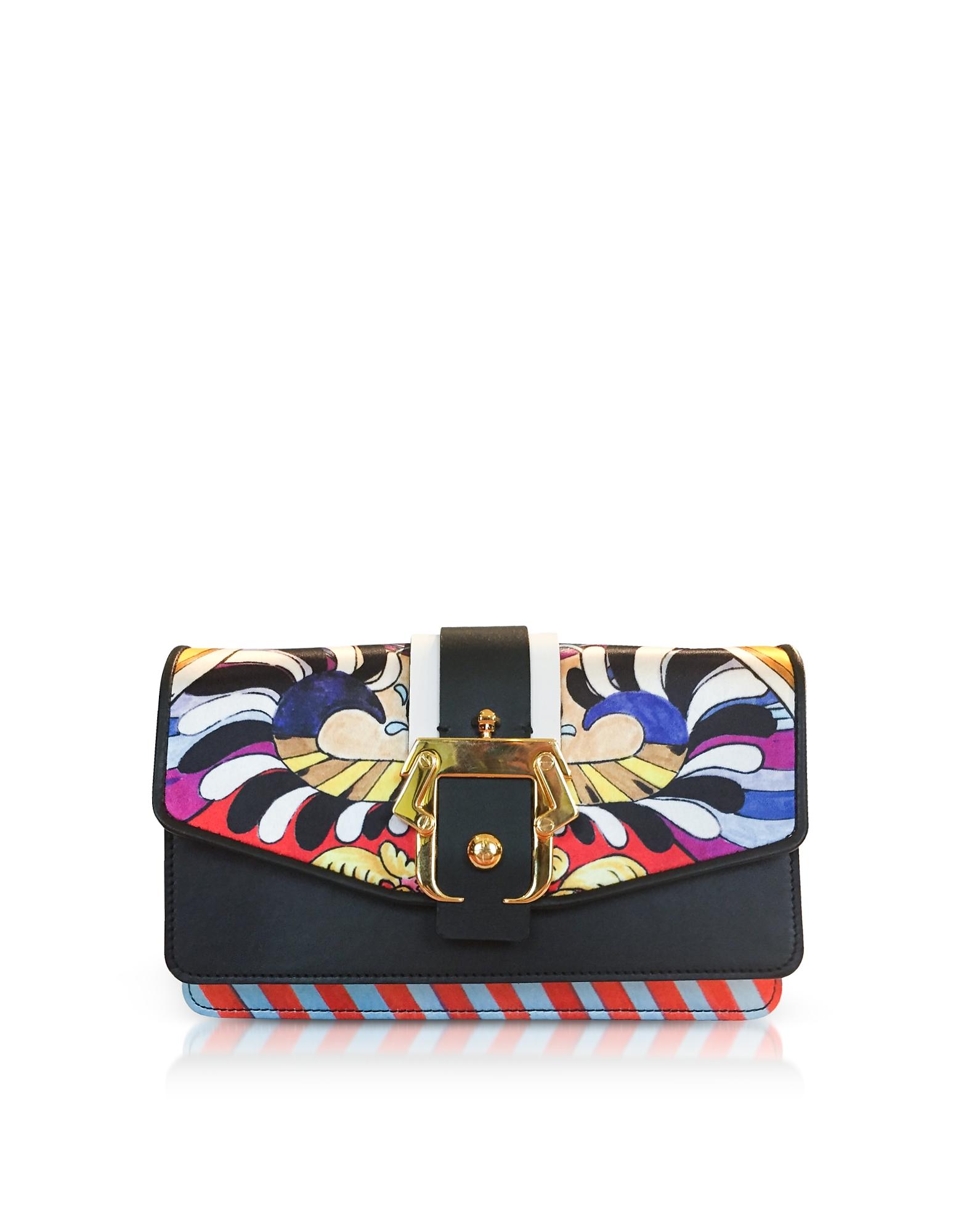 Lou Lou Wallet On Chain Glamorous Silk Shoulder Bag
