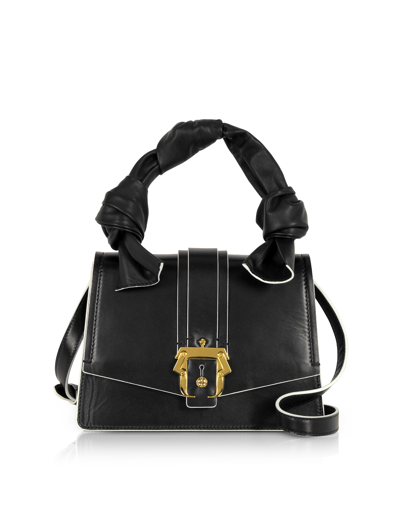 Image of Paula Cademartori Designer Handbags, Twi Twi Black Shoulder Bag