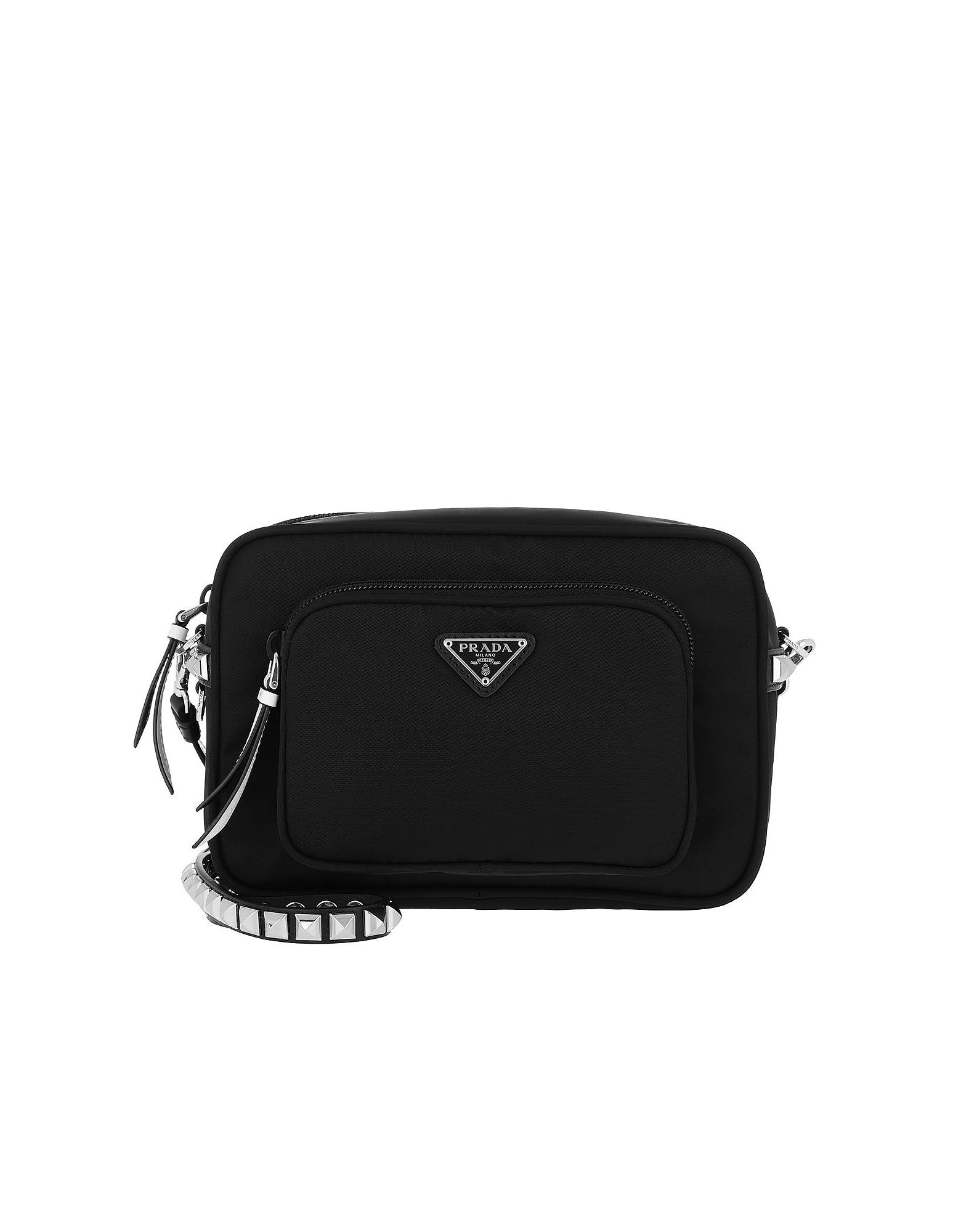 d5eba8e145cc Prada Designer Handbags, Crossbody Bag Nero/Bianco (Luggage & Bags) photo