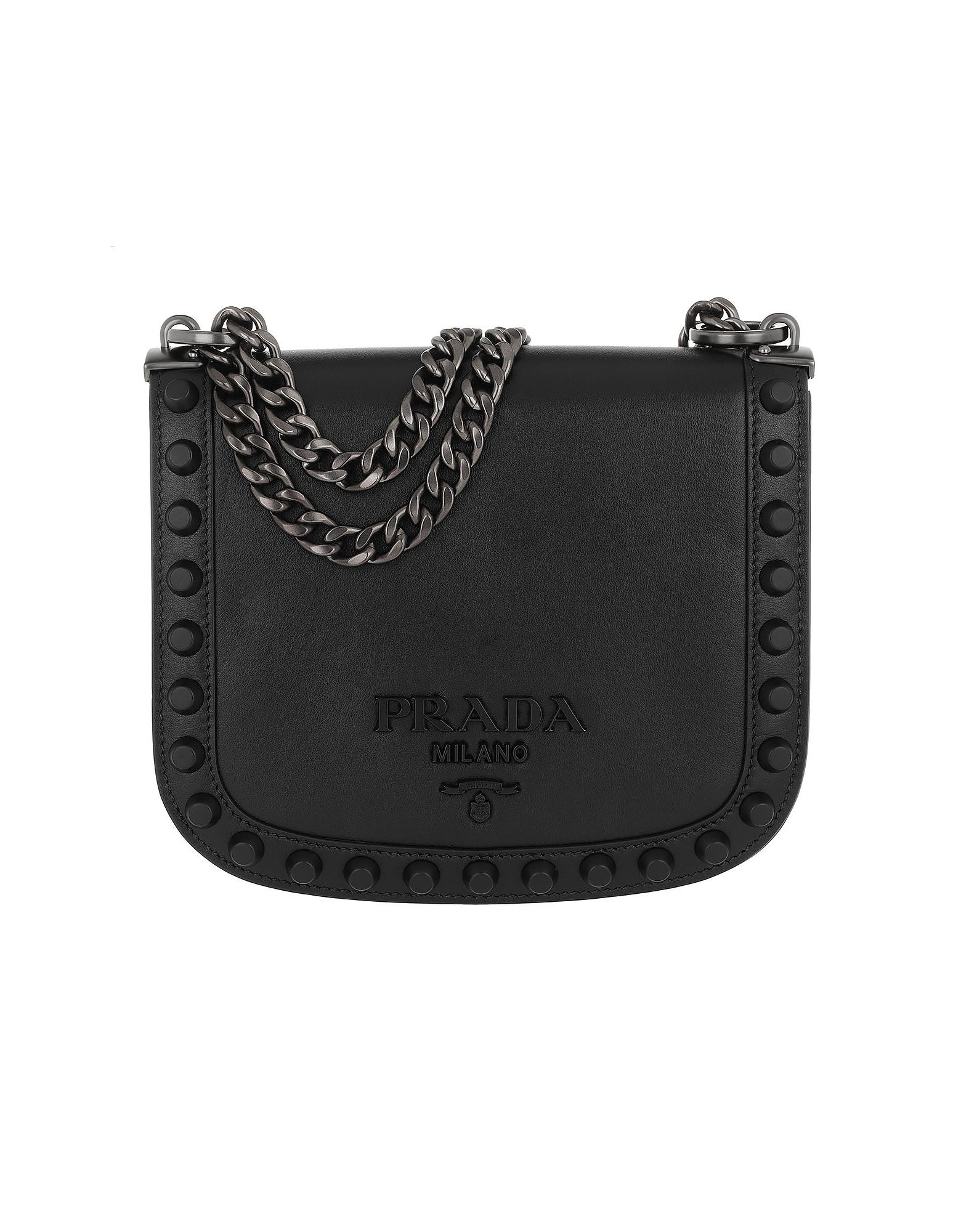 2f27aab28b2b Prada PionniÉRe Crossbody Bag Leather Nero 1 | ModeSens